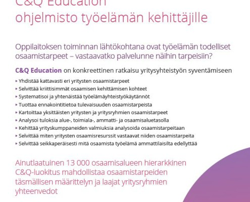 C&Q Education ohjelmisto